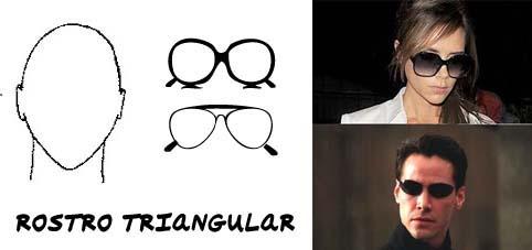 Gafas de sol para hombre segun el rostro